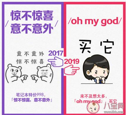 2017和2019网络流行语对比是什么意思 2017和